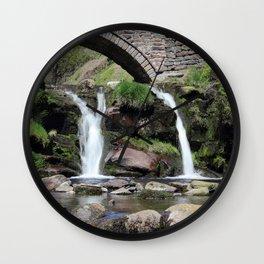 Three Shires Head Waterfall Wall Clock