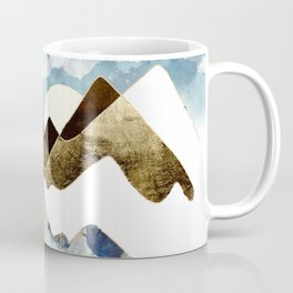 Minimal Abstract Mountains Coffee Mug