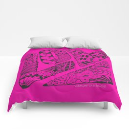 LOVE Out Loud Pink and Proud! Comforters