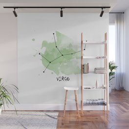 Virgo - earth element Wall Mural