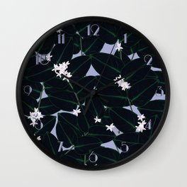 Night Blooming Wall Clock