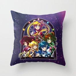 Sailor Moon S (Universe edit.) Throw Pillow