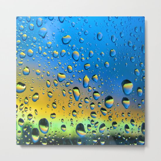 The Rain Watching the Sun Metal Print