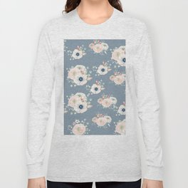 Dog Rose Pattern 3 Long Sleeve T-shirt
