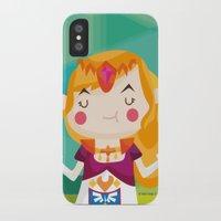 zelda iPhone & iPod Cases featuring Zelda by suupergirl