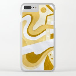 sun lives right Clear iPhone Case