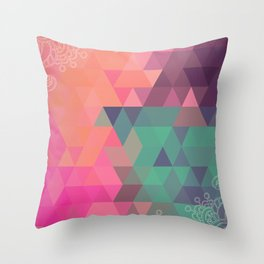Saturday Morning Throw Pillow