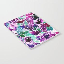 La Flor Plum Notebook
