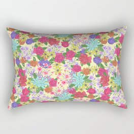 Summer Bouquet Rectangular Pillow