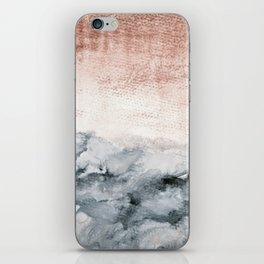 pastel landscape iPhone Skin