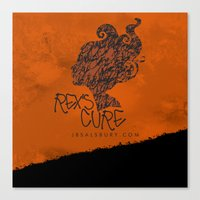 the cure Canvas Prints featuring Rex's Cure by JBSalsbury