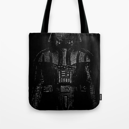 Darth Magritte Tote Bag