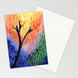 Be the Colorful Tree Stationery Cards