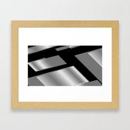 MORE LINES Framed Art Print