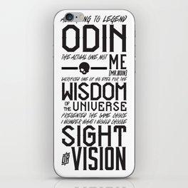 Odin's Eye iPhone Skin