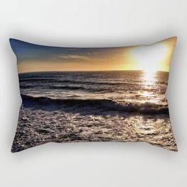 "Hermosa Beach ""On the Pier"" Rectangular Pillow"