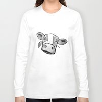 cow Long Sleeve T-shirts featuring Cow by mandylauren