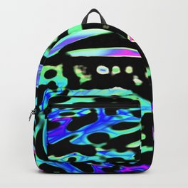 Discomania Abstract Backpack