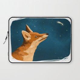 Fox and Stars Laptop Sleeve