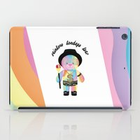 bondage iPad Cases featuring Royal Hippie Rainbow Bondage Bear Full 2.0 by YOSH FRIDAY