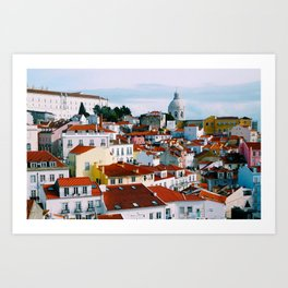 Lisbon, Portugal Wall Print Art Print