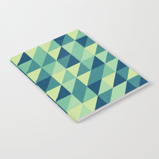 turquoise pattern Notebook