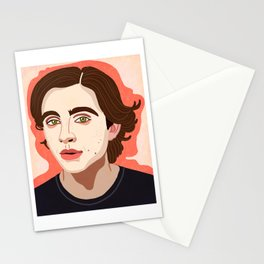 Timothee Chalamet Stationery Cards