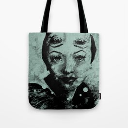Smoke and Mirrors Tote Bag