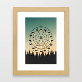 Take a Ride Framed Art Print