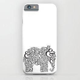 Ampersand Elephant iPhone Case