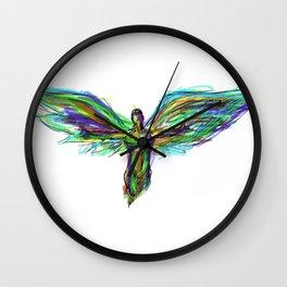 Color Angel Wall Clock