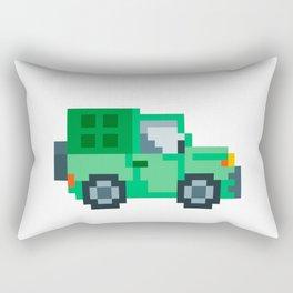 Pixel Jepp Rectangular Pillow