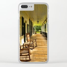 The Front Porch Clear iPhone Case