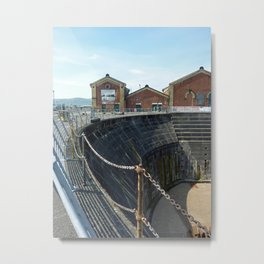 White Star Line Dock Belfast #2 Metal Print