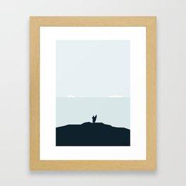 SURFE I ISEN Framed Art Print
