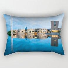 The blue hour in Ottawa Rectangular Pillow