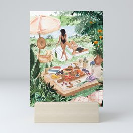 Picnic In the South of France Mini Art Print
