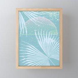 Tropical Ocean Memento Framed Mini Art Print