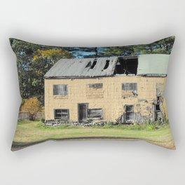 Distressed House Rectangular Pillow