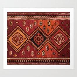Persian Carpet Design Art Print