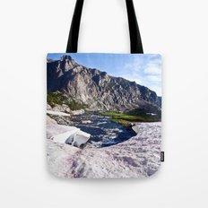 Glacier Walk Tote Bag