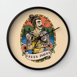 Daddy Issues Wall Clock