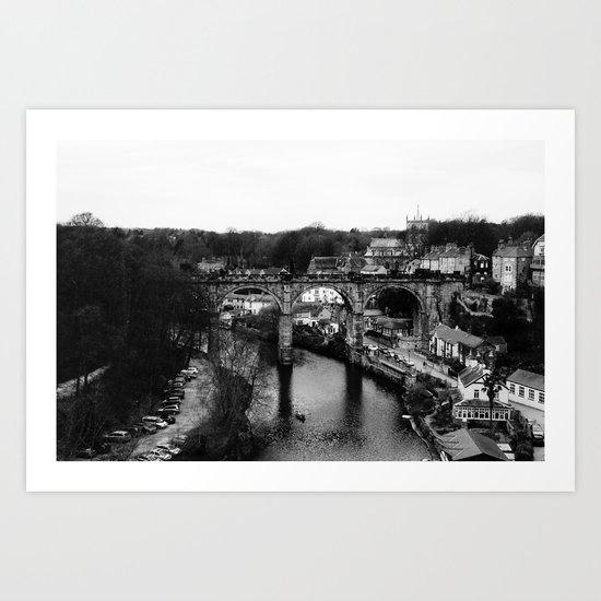 Knaresborough #4 Art Print