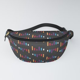 Parallel Lines Colourful #2 Fanny Pack