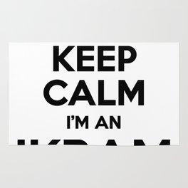 I cant keep calm I am an IKRAM Rug