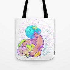Breeze (Mermaid Version) Tote Bag