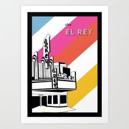 The El Rey Art Print