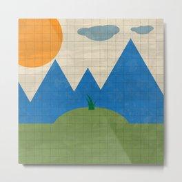 LandScape Design Metal Print