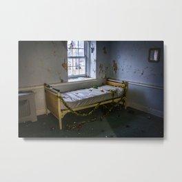 Abandoned Dorm Room Metal Print