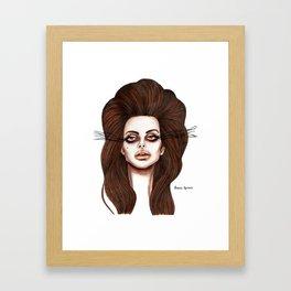LDR No. 4 Framed Art Print